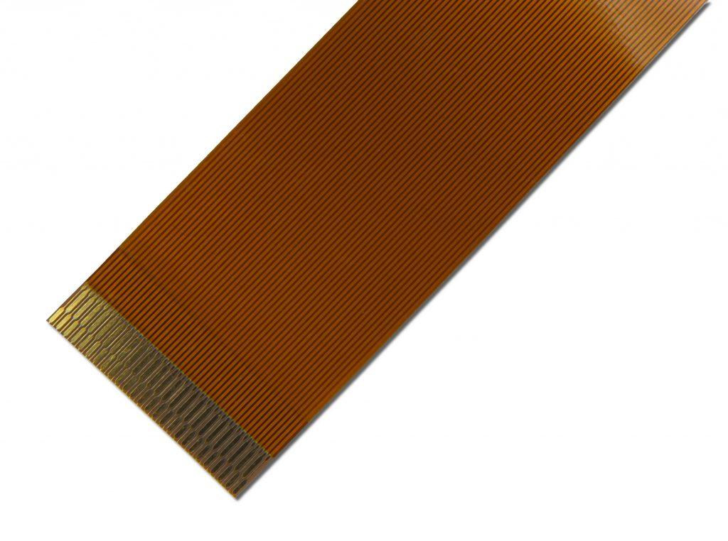 既製品フレキケーブル(FPCケーブル)の0.3mm写真